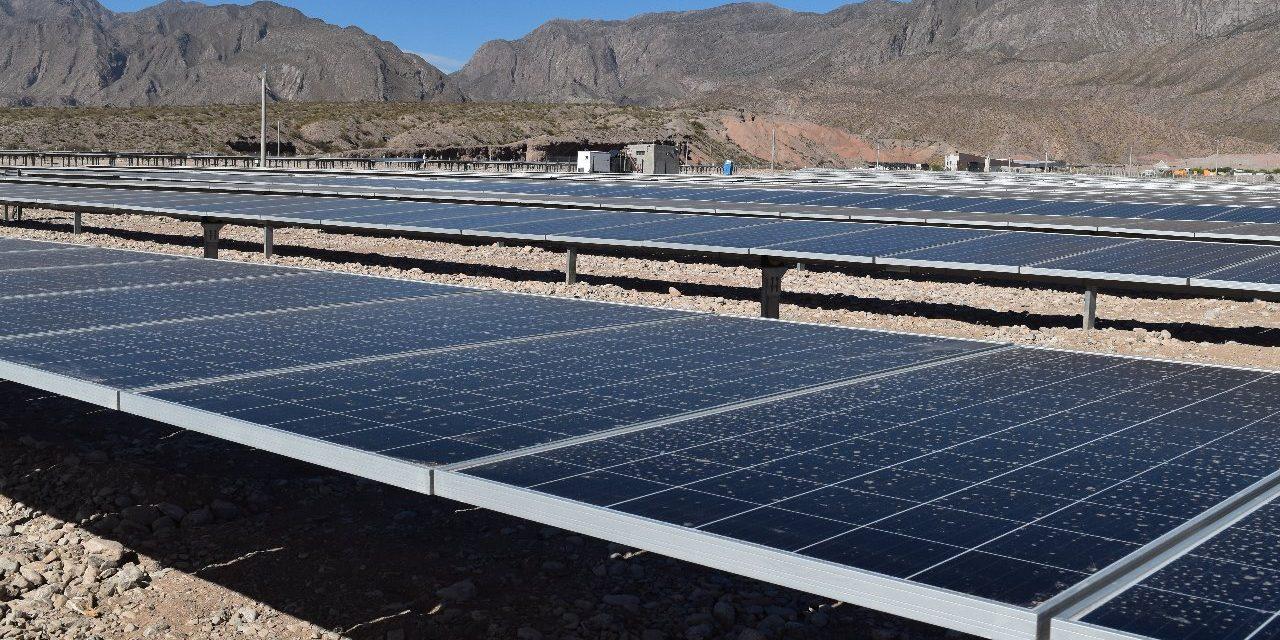 Se pone en marcha el parque solar que construyó la provincia de San Juan para comercializar energía en el parque industrial PITAR