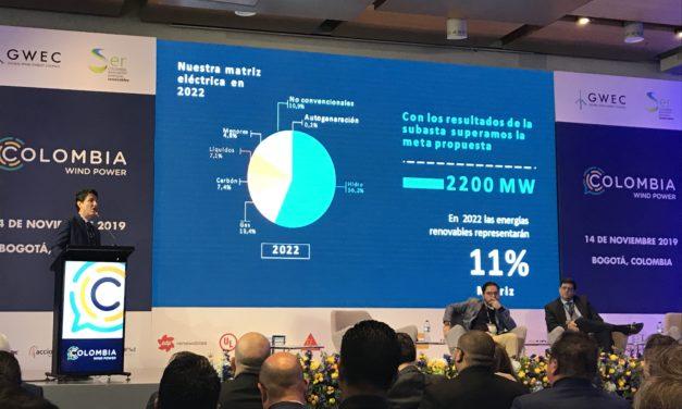 """""""Las energías renovables pueden competir con las convencionales y eso facilita su integración a la matriz energética colombiana"""""""