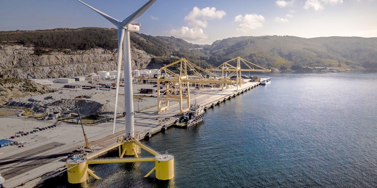 ABS clasifica la mayor turbina eólica flotante del mundo