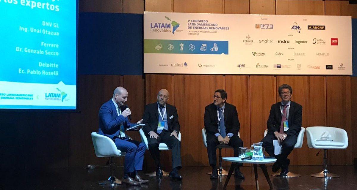 AUDER organiza un seminario sobre energías renovables para conocer la visión del nuevo Gobierno de Uruguay