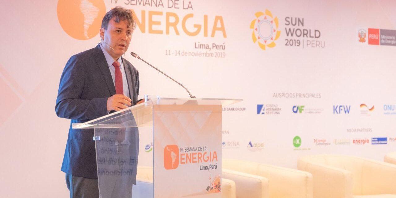 Alfonso Blanco Bonilla resultó elegido como Secretario Ejecutivo de OLADE por el período 2020-2022