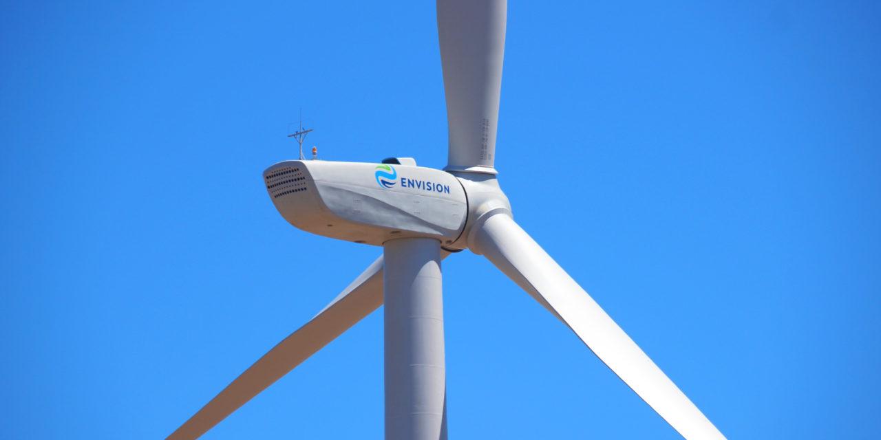 Envision inauguró el primer parque eólico en Argentina que cuenta con 100% de inversión y tecnología proveniente de China
