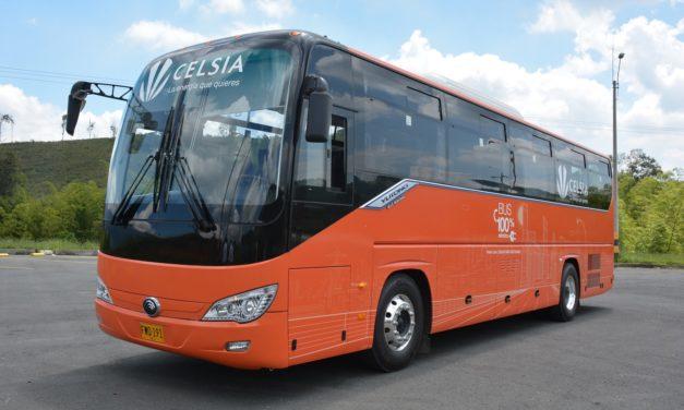 Celsia pondrá a disposición del gobierno de Bogotá 120 buses eléctricos para el sistema de transporte