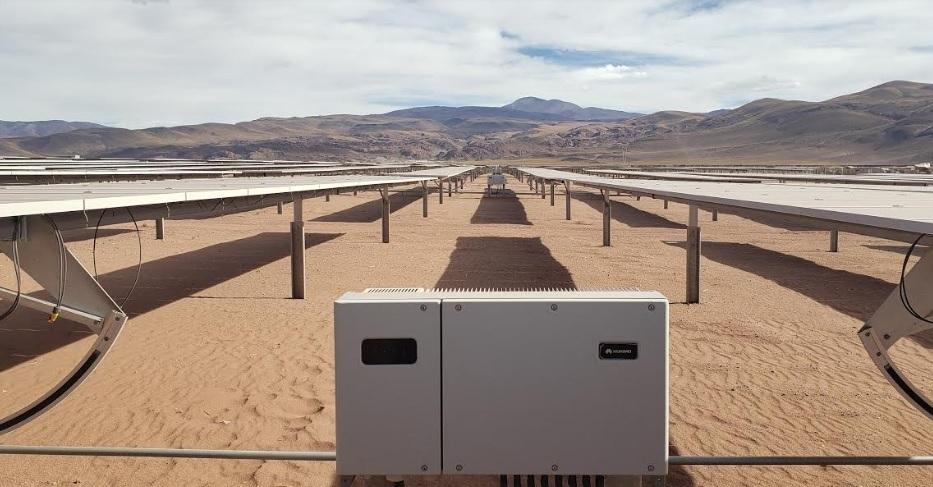 HUAWEI instaló 6648 inversores en el desarrollo del Parque Solar Cauchari en Jujuy