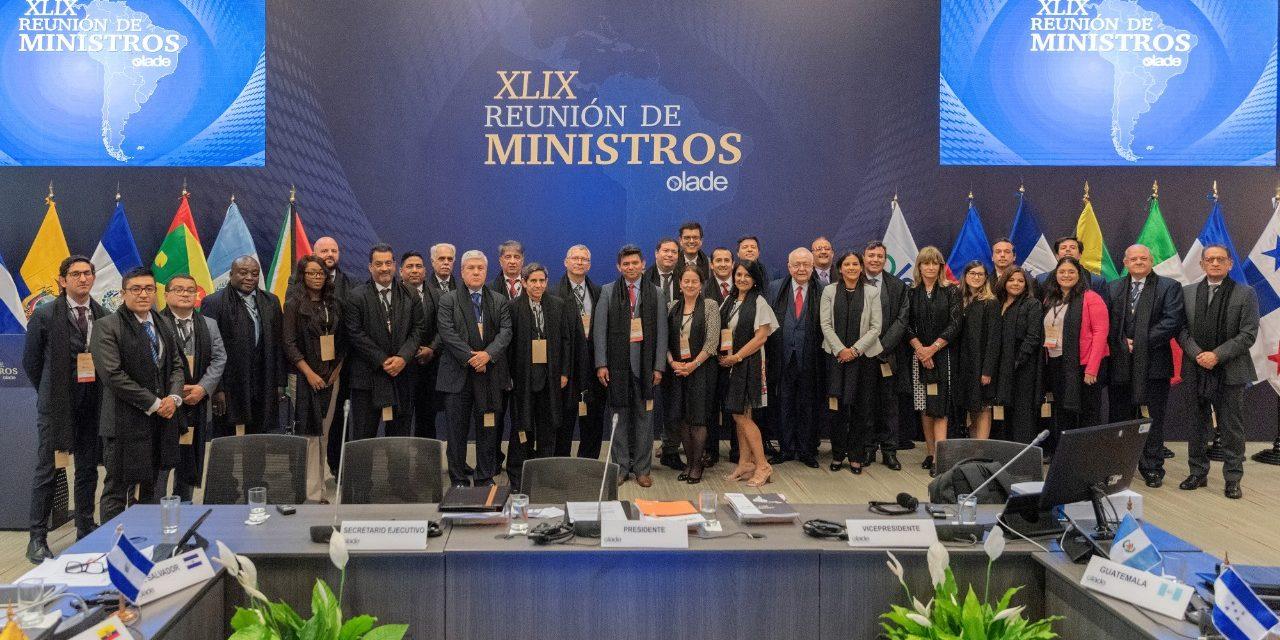 27 Ministros de Energía se reúnen para definir políticas públicas para Latinoamérica