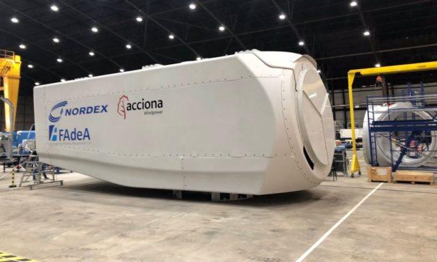 Nordex se propone fabricar 1GW de potencia en aerogeneradores desde sus plantas de México