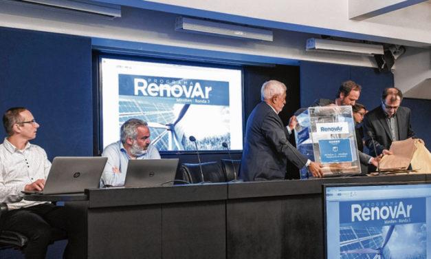 Más de 20 proyectos adjudicados en la Ronda 3 firmarán contratos antes de que cambie la gestión de Gobierno en Argentina