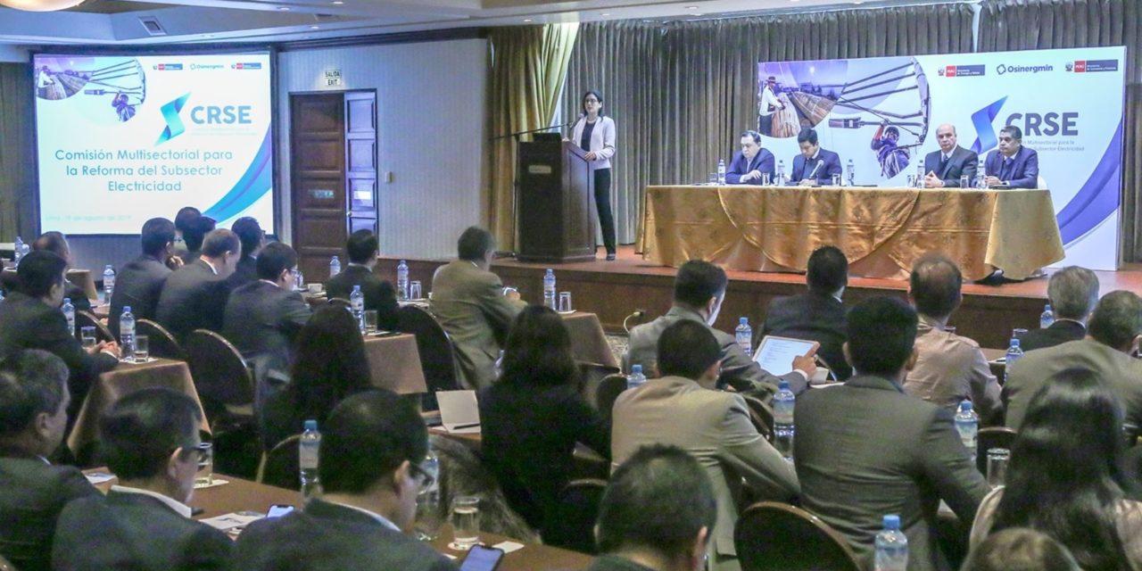 En diciembre la comisión multisectorial de electricidad definirá si habilita a contratos libres el sector fotovoltaico en Perú