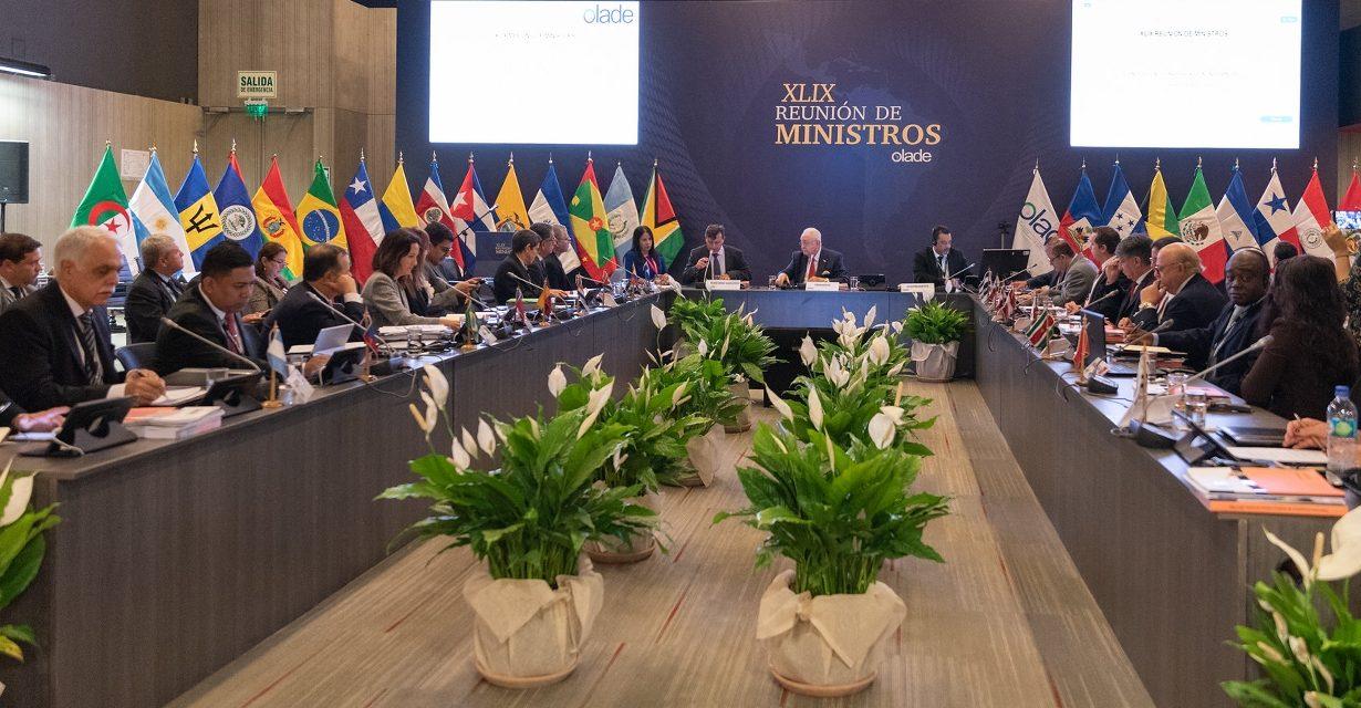 Alfonso Blanco fue reelegido en OLADE  y la apuesta de los ministros es por una Latinoamérica con más energías renovables