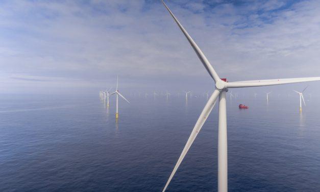 Siemens Gamesa coloca sus aerogeneradores de 11 MW en un parque eólico offshore