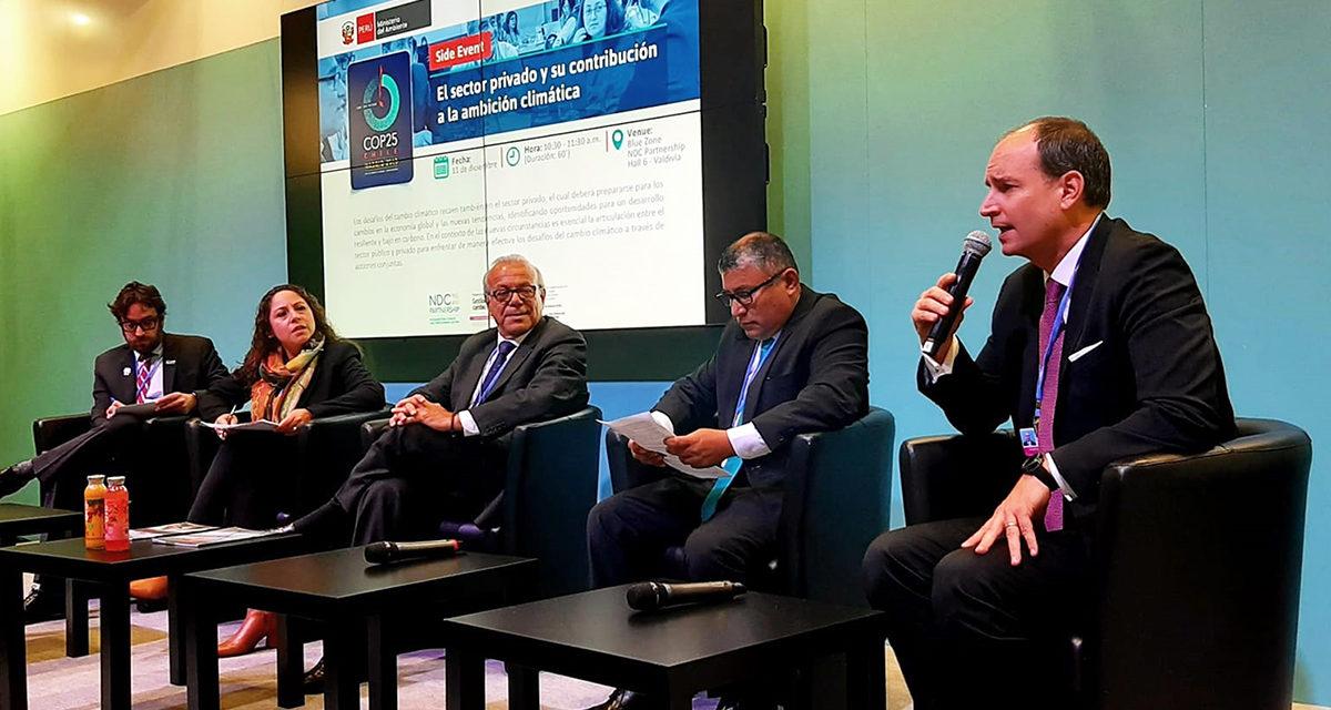 Perú se compromete a tener 15% de renovables para 2030 pero los empresarios quieren saber el plan de Estado