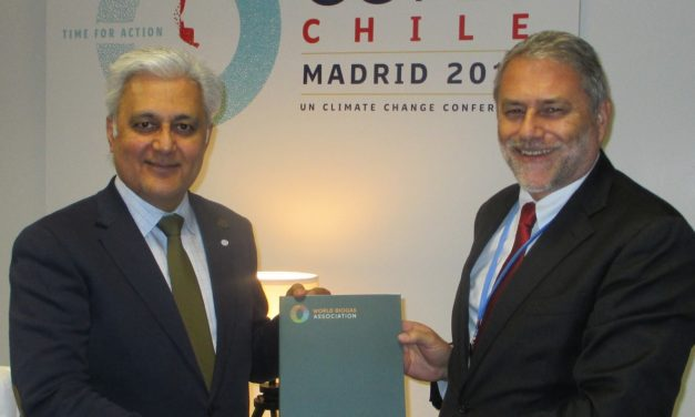 Asociación Mundial formalizó su propuesta en la COP25 a cambio de incentivar políticas de estímulo al biogás