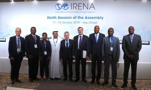 En enero será la asamblea de IRENA con la presencia de ministros de todo el mundo que analizarán programas de energías renovables