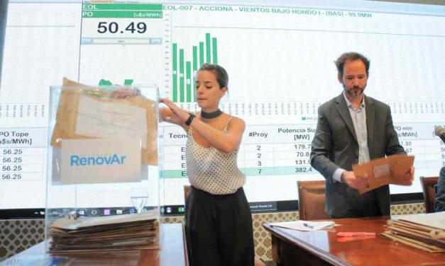 Se firmaron siete contratos de energías renovables pero quedaron pendientes y el Gobierno evalúa alguna solución