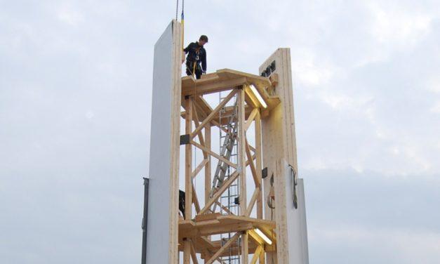 Se conforma el Consejo Internacional que aglutina a fabricantes de torres de madera para aerogeneradores de alta potencia