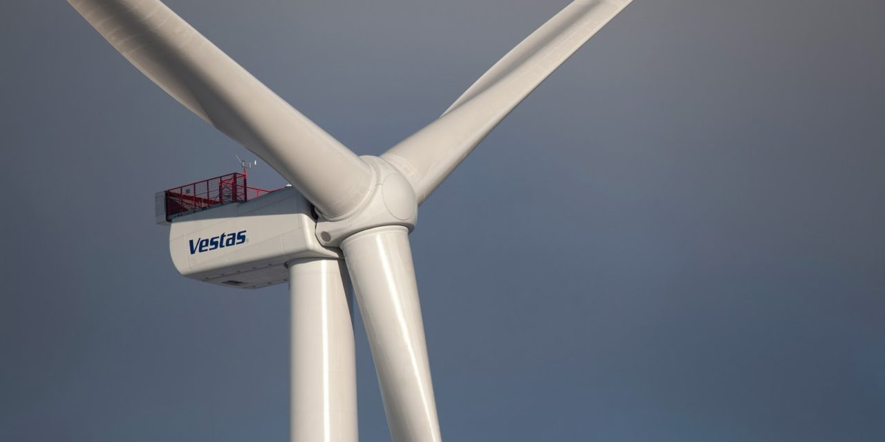 Contratos por 17.877 MW en 2019: Vestas aumentó pedidos de aerogeneradores en un 20%