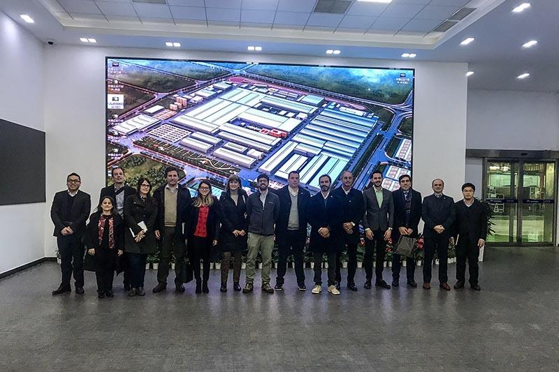 Delegación uruguaya se reunió en China con empresas referentes en la movilidad eléctrica
