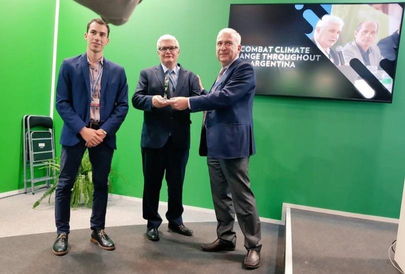 La red argentina de municipios para el cambio climático recibió el premio Green Champions GCF del Fondo Verde Climático