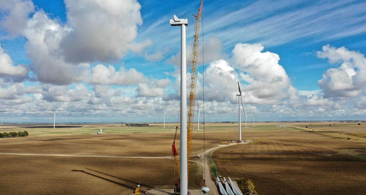 Elecnor se adjudica la construcción de un nuevo parque eólico en Chile de 185 MW
