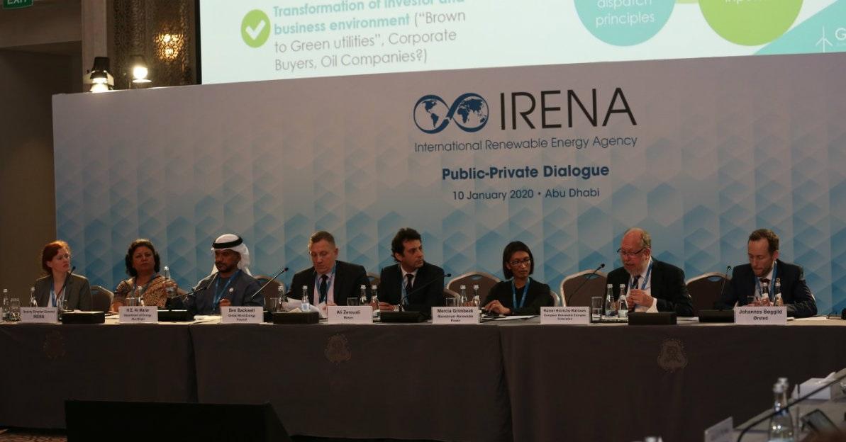 En una reunión de Irena empresarios advirtieron la necesidad de acelerar los compromisos de inserción de energías renovables
