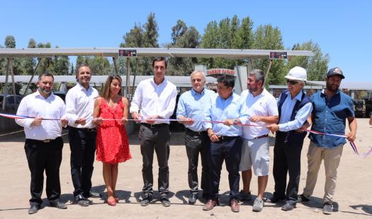 Inauguran el estacionamiento con energía solar más grande Chile