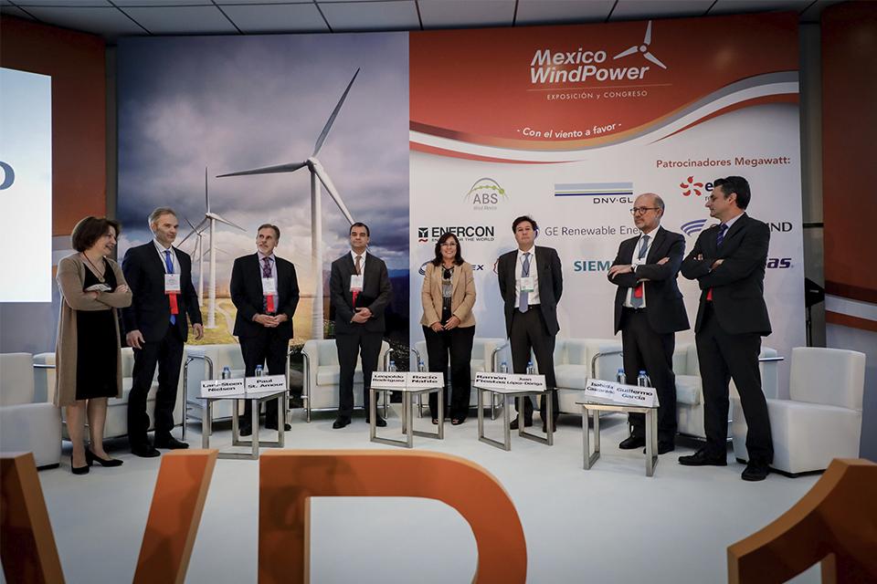 Mañana comienza «México Wind Power» y está prevista una agenda con los máximos referentes del sector eólico
