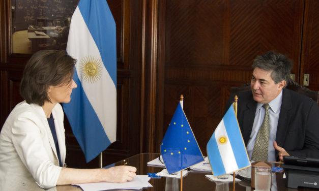 El Secretario de Energía de Argentina y la Embajadora de la Unión Europea analizaron proyectos que se desarrollarán en conjunto