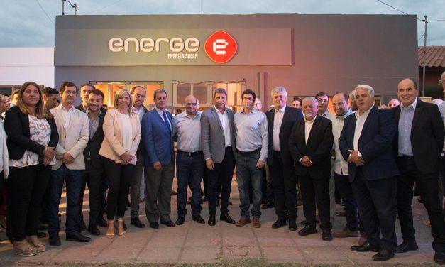 Energe inauguró nuevas oficinas y showroom en San Juan en presencia de autoridades locales