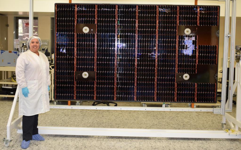 saocom 1b - paneles