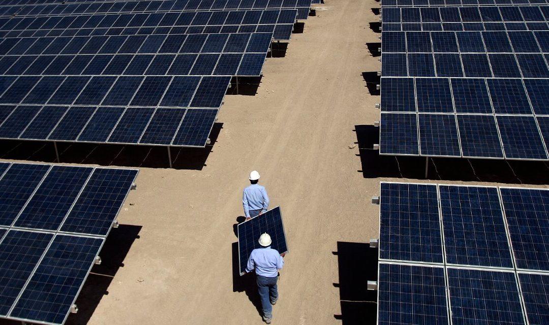 Más de la mitad de los proyectos en construcciónen Chile son solares