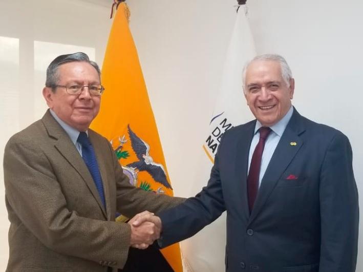 Luis Vintimilla fue designado como Viceministro de Electricidad de Ecuador