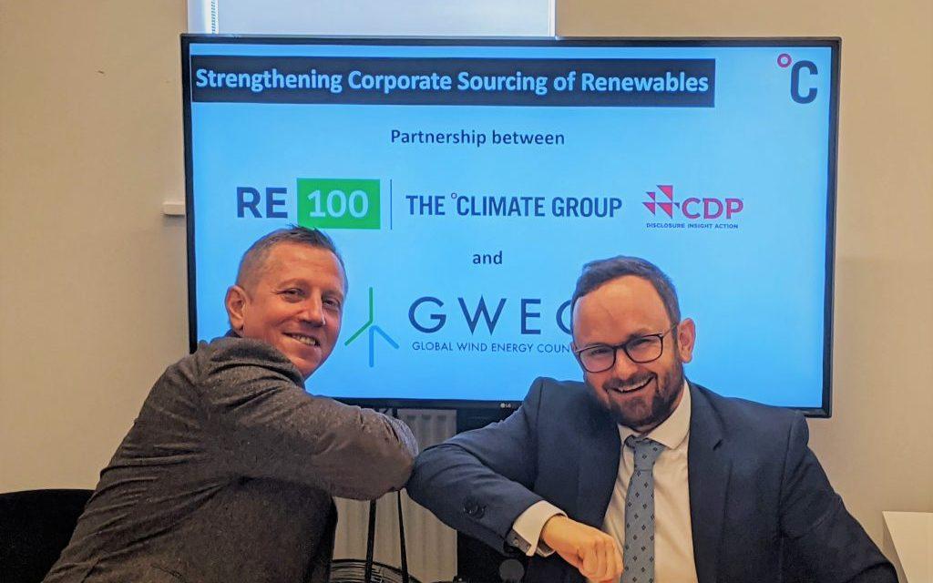 GWEC y The Climate Group se asocian para promover energías renovables en mercados emergentes