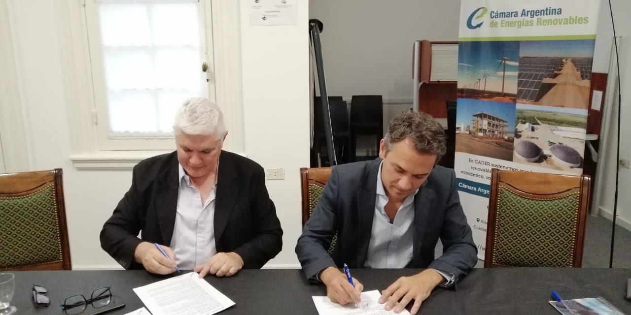 CADER y la Red Argentina de Municipios frente al Cambio Climático acuerdan impulsar la transición energética