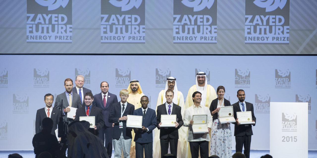 Con 600 mil dólares en juego abre la convocatoria para los premios Zayed al mejor proyecto sostenible en energía