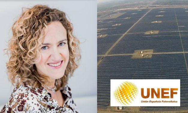 Arancha Martínez Navarro es la nueva presidenta de la Unión Fotovoltaica Española