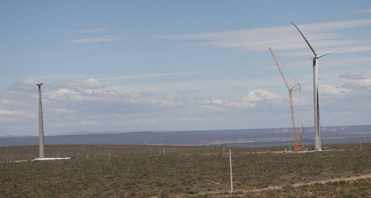 Argentina: Este mes empezará a funcionar una primera etapa del parque eólico Vientos Neuquinos