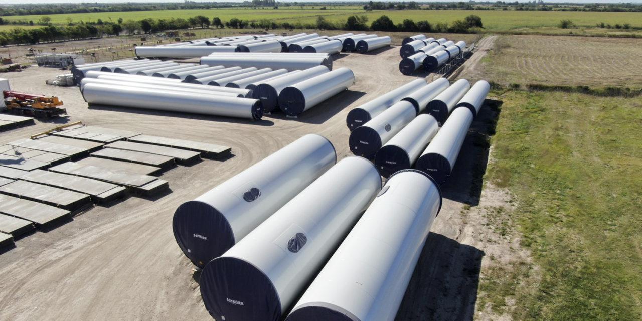 Desde su planta de Argentina Haizea-Sica exportará torres eólicas a Estados Unidos