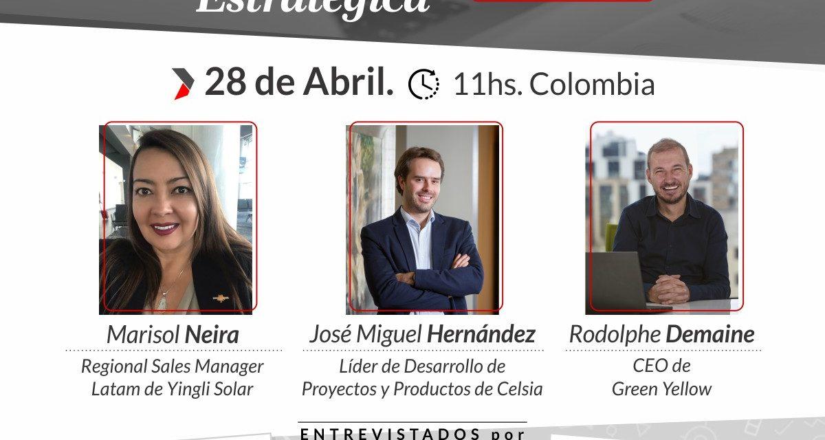 Hoy es el webinar de Energía Estratégica que analizará generación distribuida en Colombia