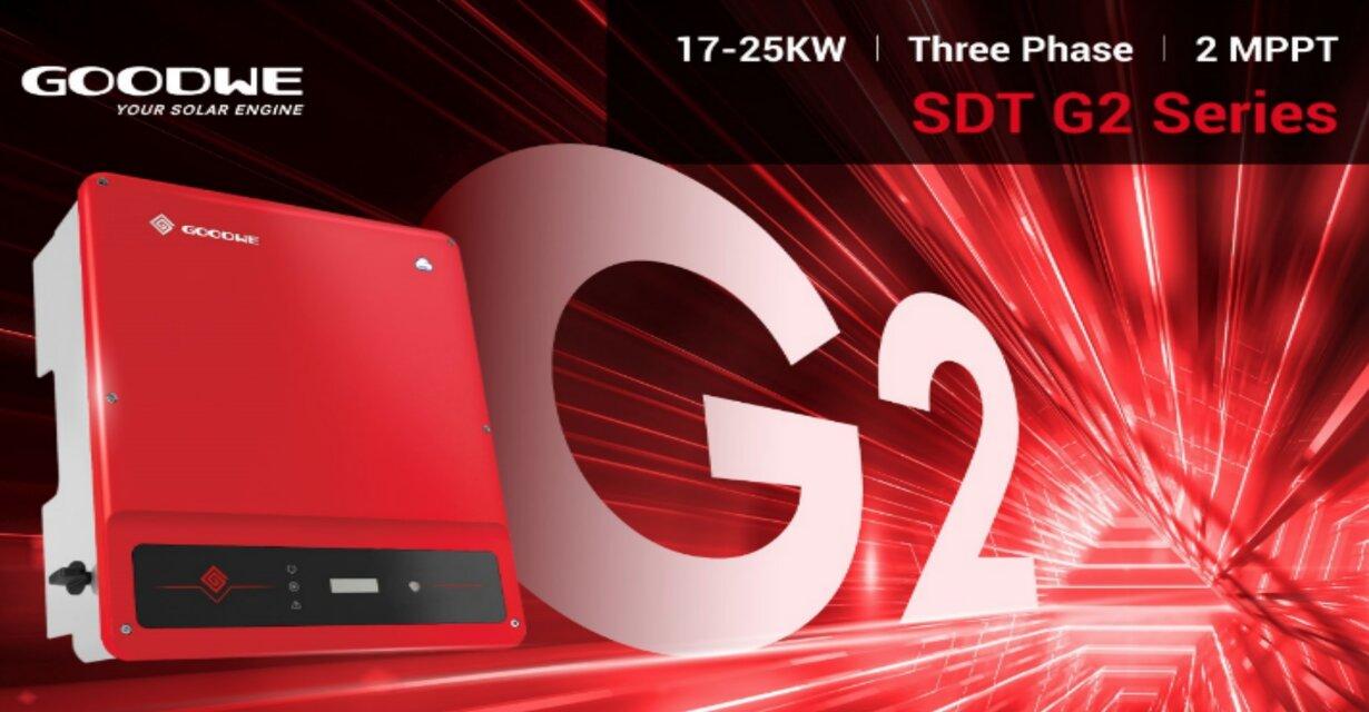 GoodWe lanza la solución de inversores serie SDT G2 de 17-25kW