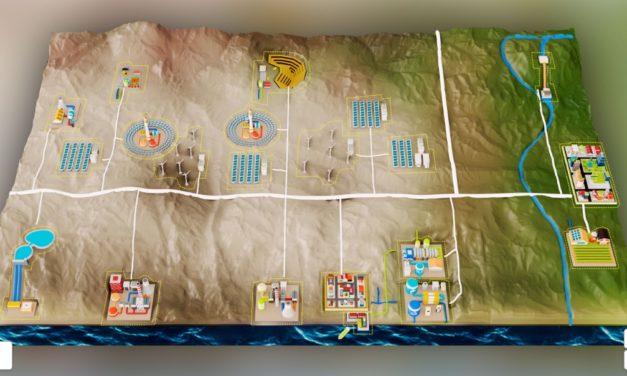 Novedosa maqueta interactiva revela proyectos de Chile sobre energías renovables y su meta hacia la carbono neutralidad