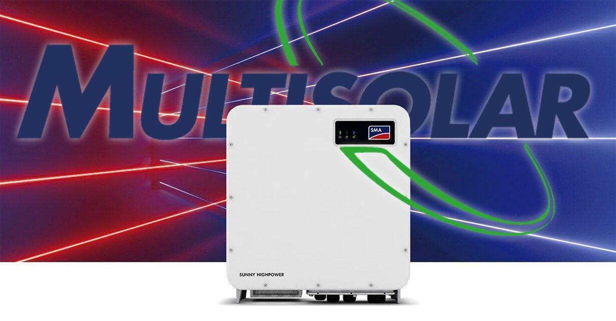 Multisolar profundiza su oferta en el mercado argentino con soluciones para plantas fotovoltaicas comerciales y utility scale