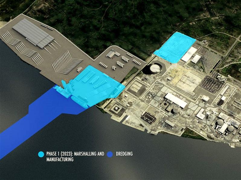 Nueva Jersey albergará el primer puerto de Estados Unidos dedicado a ensamblar turbinas eólicas