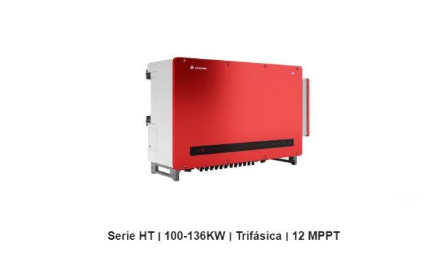 GoodWe refuerza su oferta de inversores para el sector utility con su inversor más poderoso: la Serie HT 100-136kW