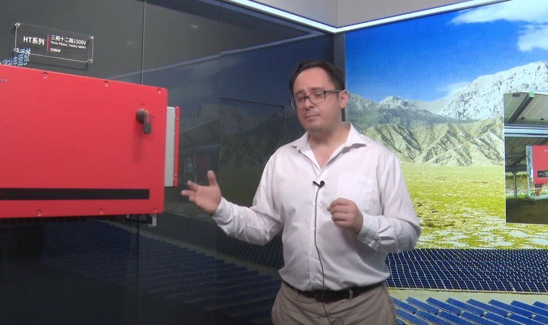 GoodWe lanza su nueva serie de inversores para grandes parques solares de Latinoamérica