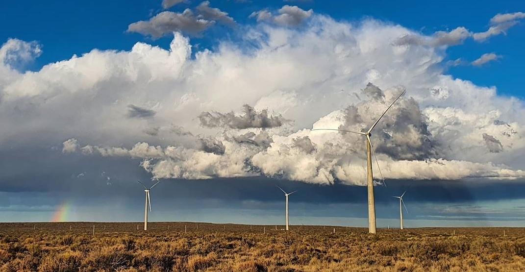 AES Argentina inauguró el parque eólico Vientos Neuquinos