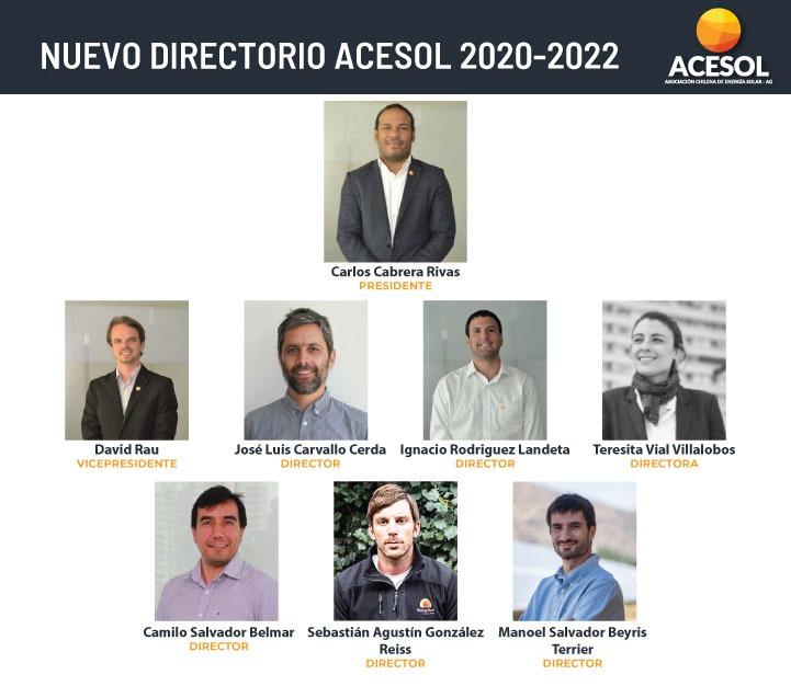 Carlos Cabrera Rivas fue elegido como presidente de ACESOL hasta 2022