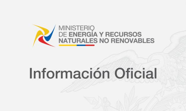 Cambio de autoridad en la Agencia de Regulación y Control de Electricidad de Ecuador