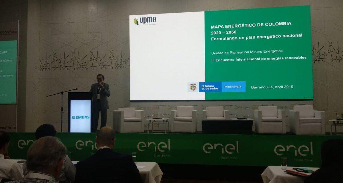 El Gobierno de Colombia lanza talleres para avanzar con su Plan Nacional Energético al año 2050