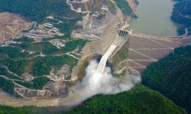 La mega represa Hidroituango no generará energía en 2021 pero ya está demostrando avances de obra para llegar al 2022