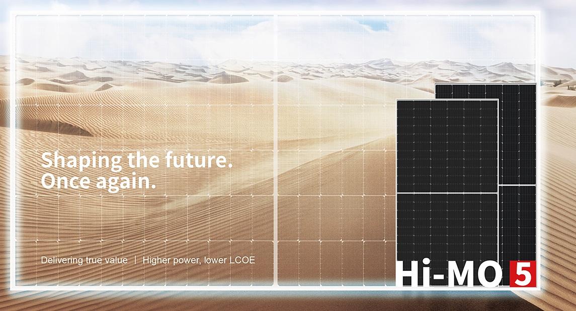 LONGi detalló aspectos técnicos de su módulo Hi-MO 5 para plantas fotovoltaicas de alta potencia